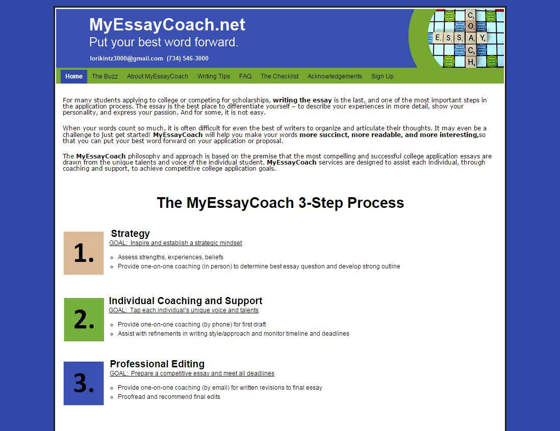 the coach essay